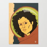 ripley Canvas Prints featuring Ripley  by Arlin Ortiz
