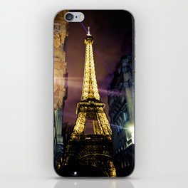 Paris La Nuit iPhone Skin