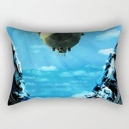 Eumelus docking at Donovrykten Rectangular Pillow