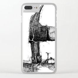 Hammerhead - M Clear iPhone Case