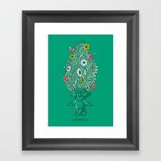 Troll of Nature Framed Art Print