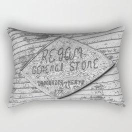 General Store, Regan, North Dakota 7 Rectangular Pillow