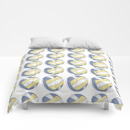 Volleyball Art Comforters