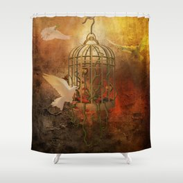 Free Flight Shower Curtain