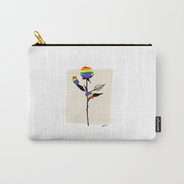 Rose with butterfly  Carry-All Pouch