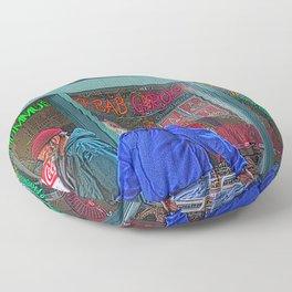 Gyros of Seattle Floor Pillow