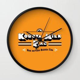Korova Milkbar Wall Clock