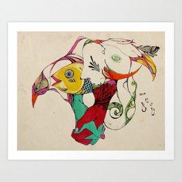 Unidad Art Print