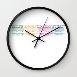 Make Bigots Afraid Again Wall Clock