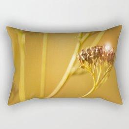 Autumn wildflowers in forest #decor #buyart #society6 Rectangular Pillow