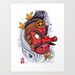 Tengu Art Print