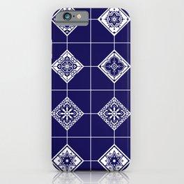 Talavera Mexican Tile – Porcelain Palette iPhone Case