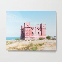 Saint Agatha's Tower, Malta Metal Print