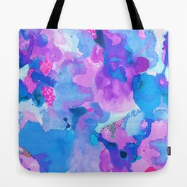 Lava Elements (Blue) Tote Bag