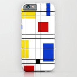 Neo-Plasticism 1 iPhone Case