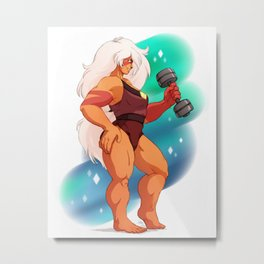 big buff cheeto puff Metal Print