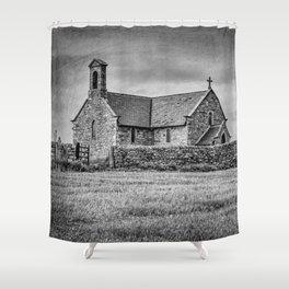 Creep church Shower Curtain