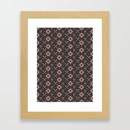 PIRATE_GREY Framed Art Print