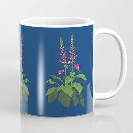Foxglove Flower Garden Illustration Coffee Mug