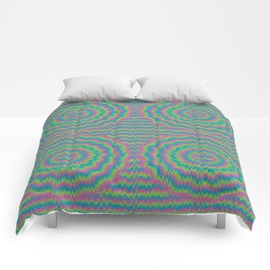 Psychedelic Mandala Comforters