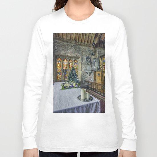 Candles At Christmas Long Sleeve T-shirt