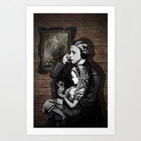 Dark and Delightful Madness  Art Print