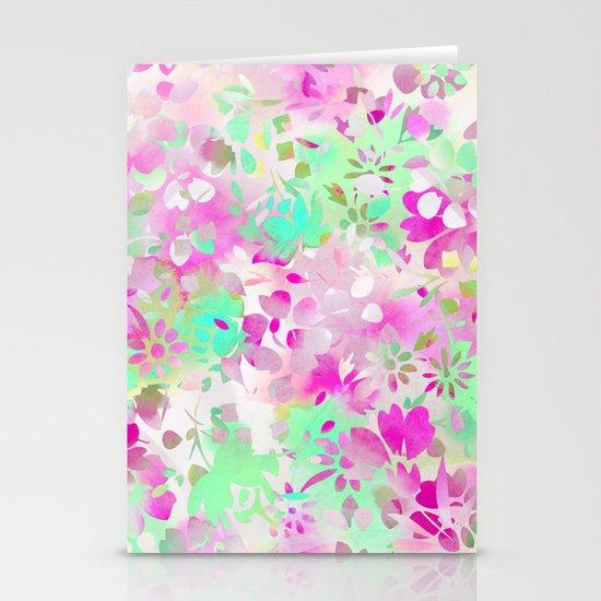 Floral Spirit 4 Stationery Cards