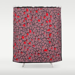 Organic Extrusion Colorways Shower Curtain