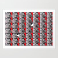 Red Flappers - New York, 2009 Art Print