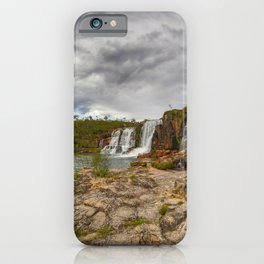 Here comes the rain iPhone Case