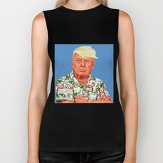 Hipstory -  Donald Trump Biker Tank