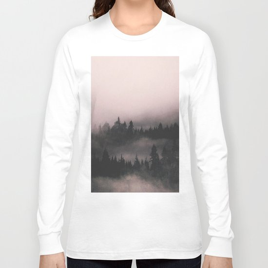 When the fog comes in Long Sleeve T-shirt