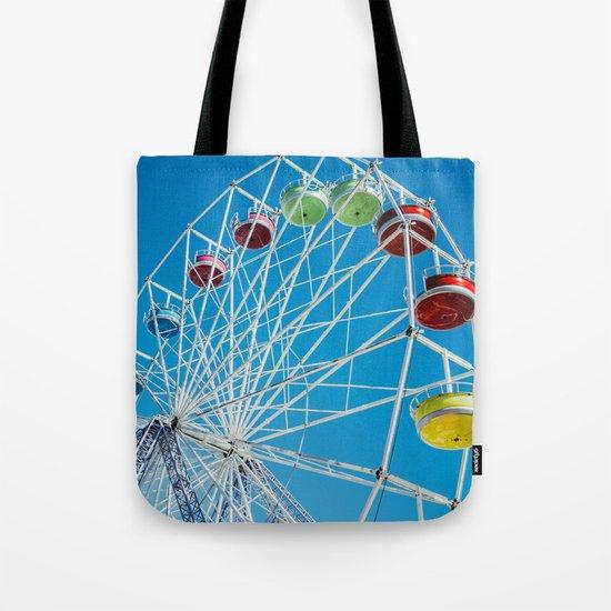 Carival Ferris Wheel Tote Bag