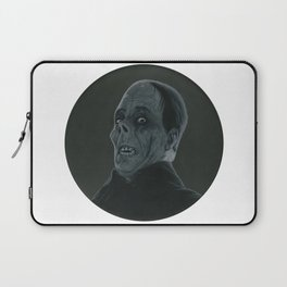 The Opera's Phantom on vinyl record print Laptop Sleeve