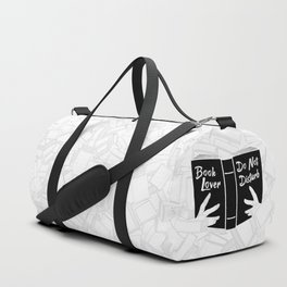 Book Lover, Do Not Disturb II Duffle Bag