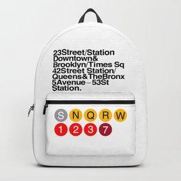 93820e4d7ed8 New York Helvetica Backpack