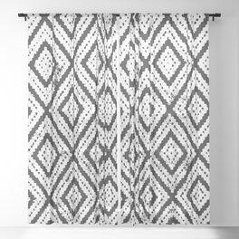 Boho Pattern Sheer Curtain