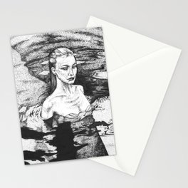 Rising From The Depths Stationery Cards