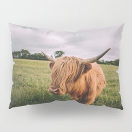 Epic Highland Cow Pillow Sham