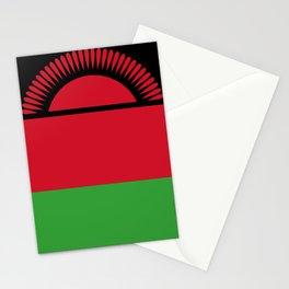 Malawi Flag Stationery Cards