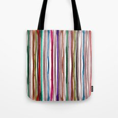 Rainbow Stripes 2 Tote Bag