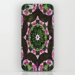 Rosas Moradas 2 Kaleidoscope 10 iPhone Skin