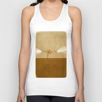avatar the last airbender Tank Tops featuring Avatar Aang by daniel