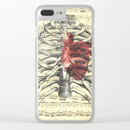 heartbeat Clear iPhone Case