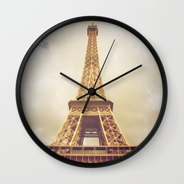 Eiffel Tower in Paris Wall Clock