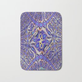 Enigma Necklace digital art pattern Bath Mat