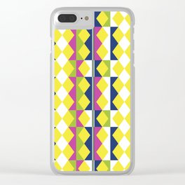 Pattern abstracta I Clear iPhone Case