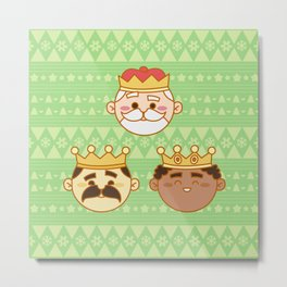 Three Wisemen Metal Print