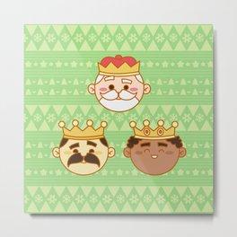 Three Wisemen Metal Print