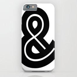 Ampersand Type symbol. iPhone Case